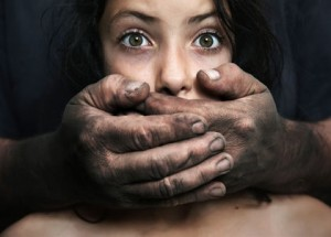 Domestic violence - conceptual image