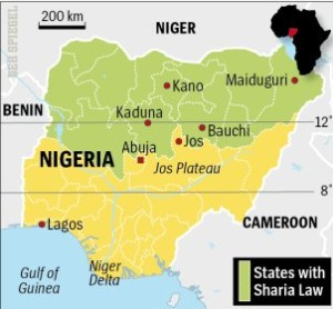 Nigerian Sharia Map