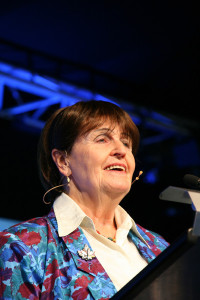 baroness cox giving the keswick lecture week 2 09